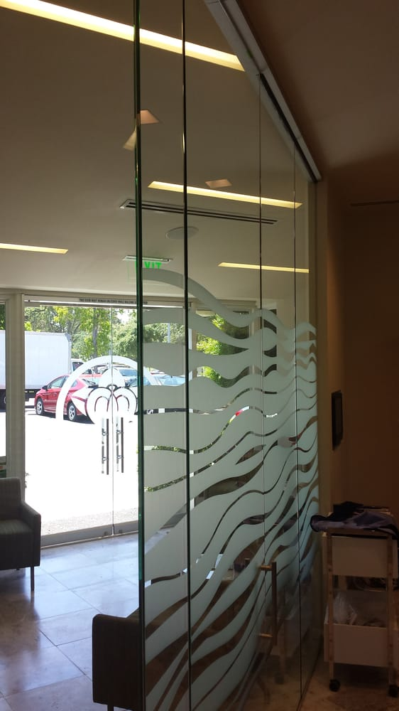 Glass Partition With All Glass Door Yelp