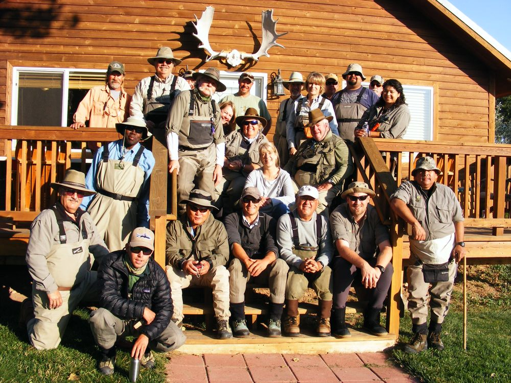 Montana Fly Fishers & The Leaning Tree Lodge: 111 Front Dr, Fort Smith, MT