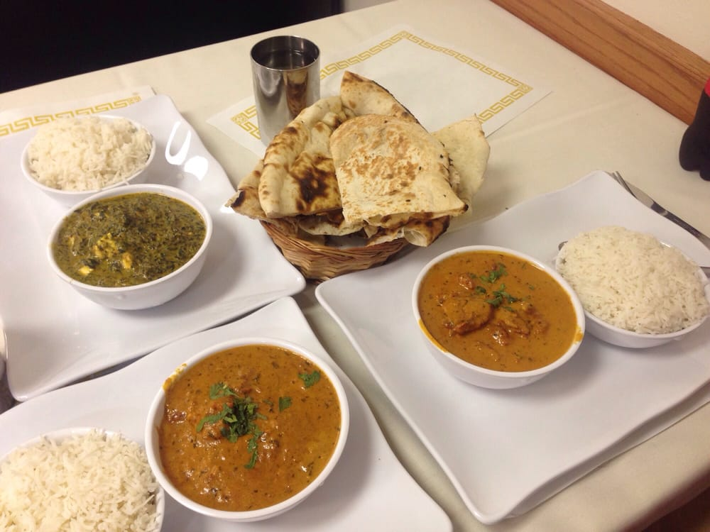 Tikka masala butter chicken and palak paneer dig in for 4 spice indian cuisine