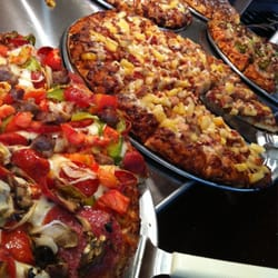 Mountain Mike's offers pizza buffet. All you can eat for less than $10 hot pizza, salad bar and drink. Post to Facebook Cancel Send. Sent! A link has been sent to your friend's email address.