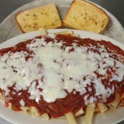 Photo Of Peluso S Italian Restaurant Columbus Ga United States Ziti Covered In