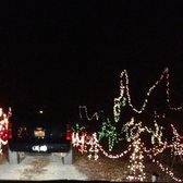 Photo of Zootastic Park - Troutman, NC, United States. Zootastic Christmas lights
