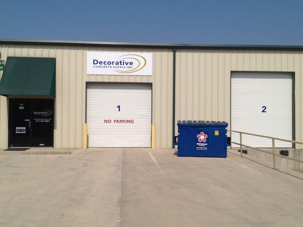 Decorative Concrete Supply Get Quote Building Supplies