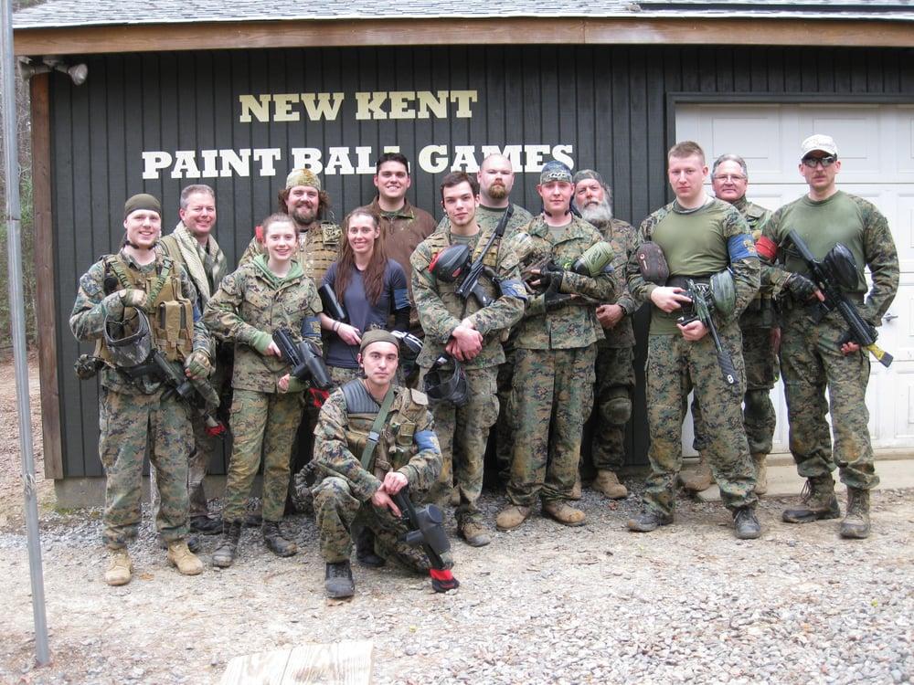 New Kent Paint Ball Games