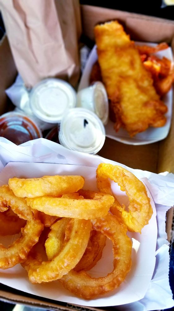 West Coast Fish N' Chips: 4639 N Fresno St, Fresno, CA