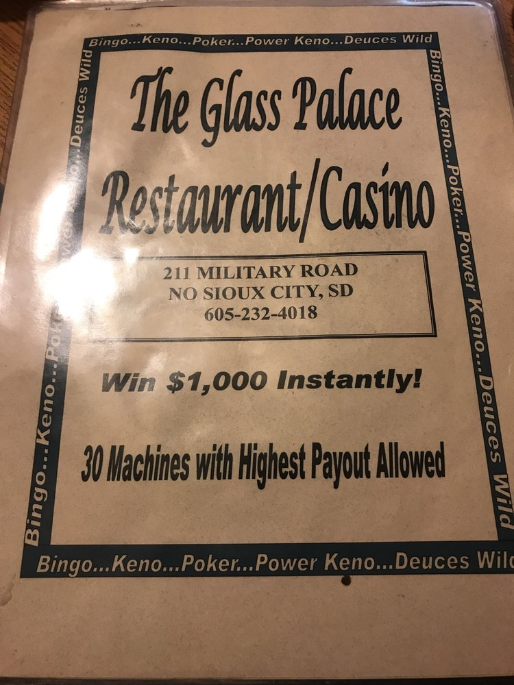 The Glass Palace: 211 Military Rd, North Sioux City, SD