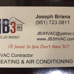 JB3 HVAC - 37 Reviews - Heating & Air Conditioning/HVAC