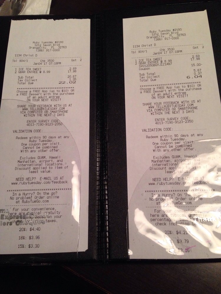 Ruby Tuesday - Order Food Online - 35 Photos & 50 Reviews