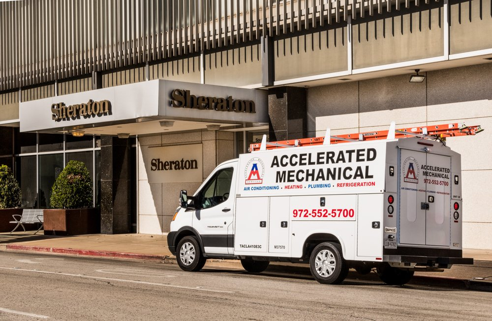 Accelerated Mechanical Services: 103 W Broad St, Forney, TX