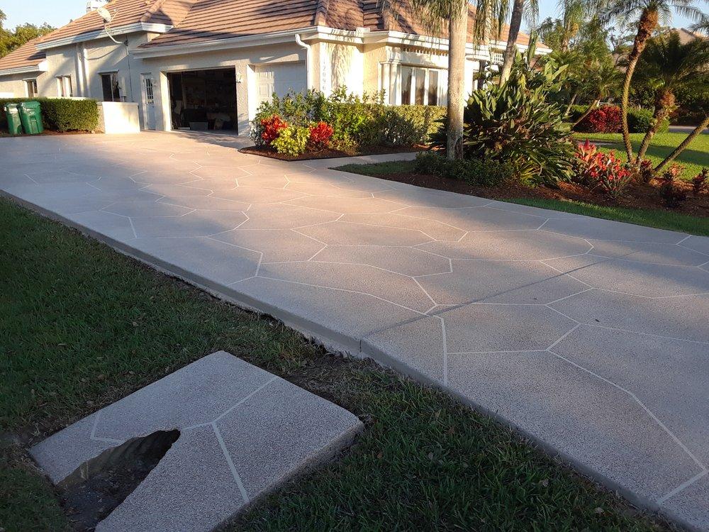 Designer Driveways: 1611 SW Biltmore St, Port Saint Lucie, FL
