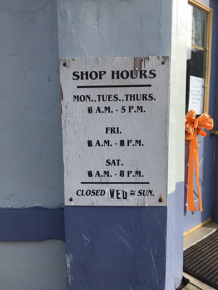 John Hotchkiss Barber Shop: 205 S Main St, Cambridge Springs, PA
