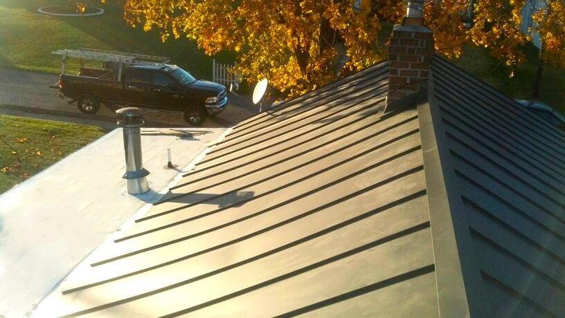 Photo Of Karma Home Designs   Washington, DC, United States. Metal Roof  Install