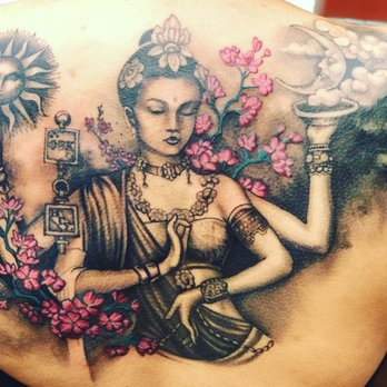 722952a98 Photo of Skin Design Tattoo - Brooklyn, NY, United States. One more session