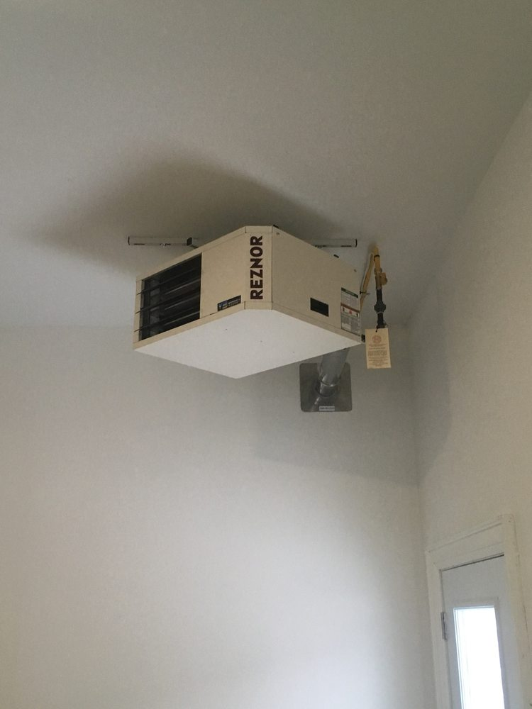 Reznor Garage Heater >> Reznor Garage Heater Yelp