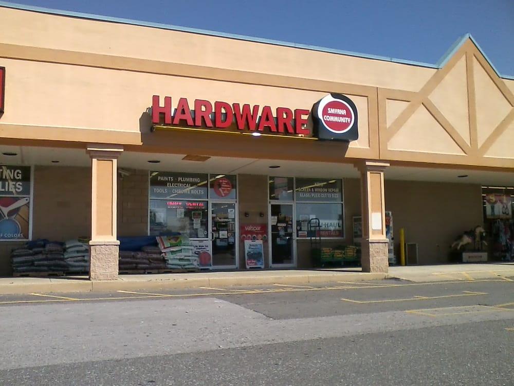 Smyrna Community Hardware: 456 W Glenwood Ave, Smyrna, DE