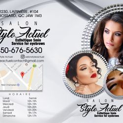 Photo Of Style Actuel Coiffure   Brossard, QC, Canada. Salon Style Actuel
