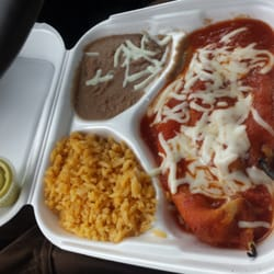 Photo Of Lupitas Restaurant Bloomington Il United States Chili Relleno Dinner