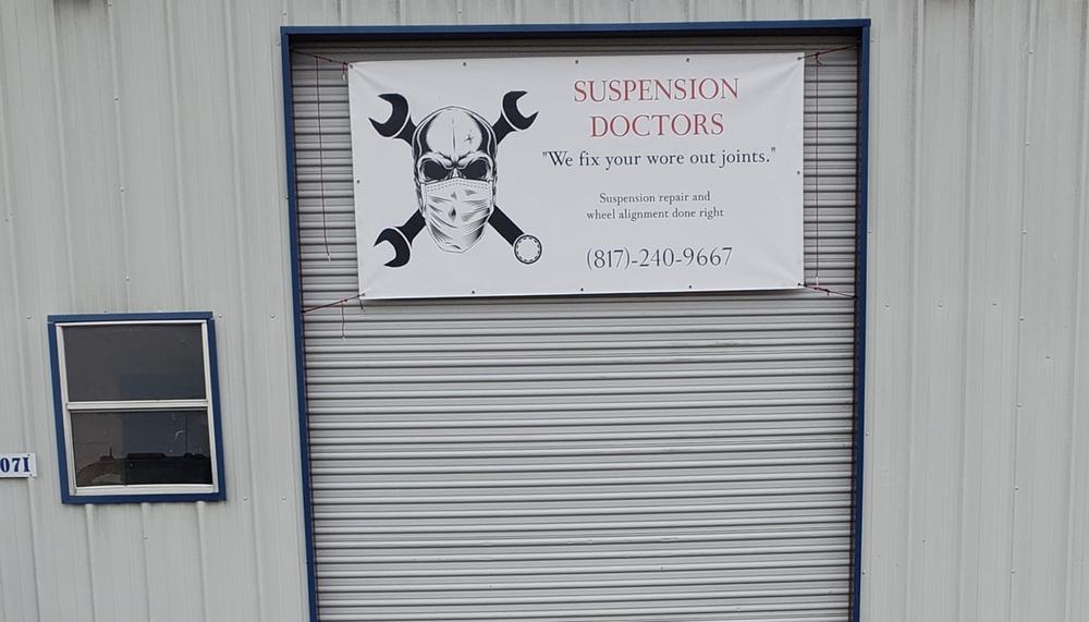 Suspension doctors: 5107 Fall Creek Hwy, Granbury, TX