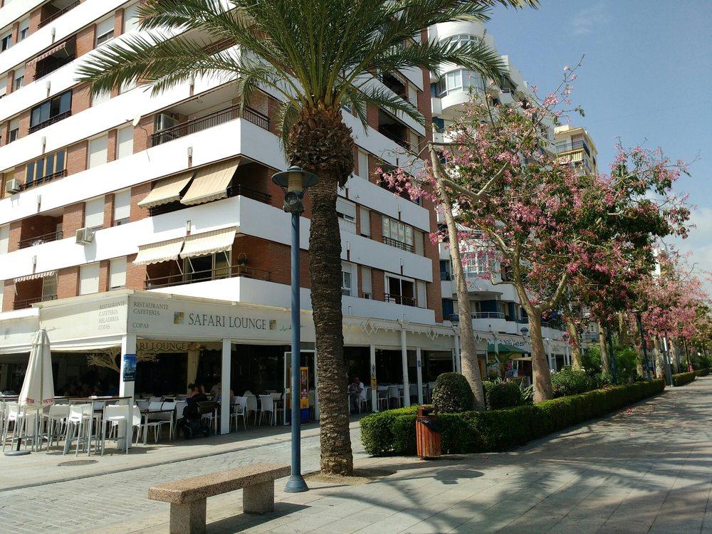 Safari lounge mediterranean paseo de larios torre del mar m laga spain restaurant for Cerrajero torre del mar