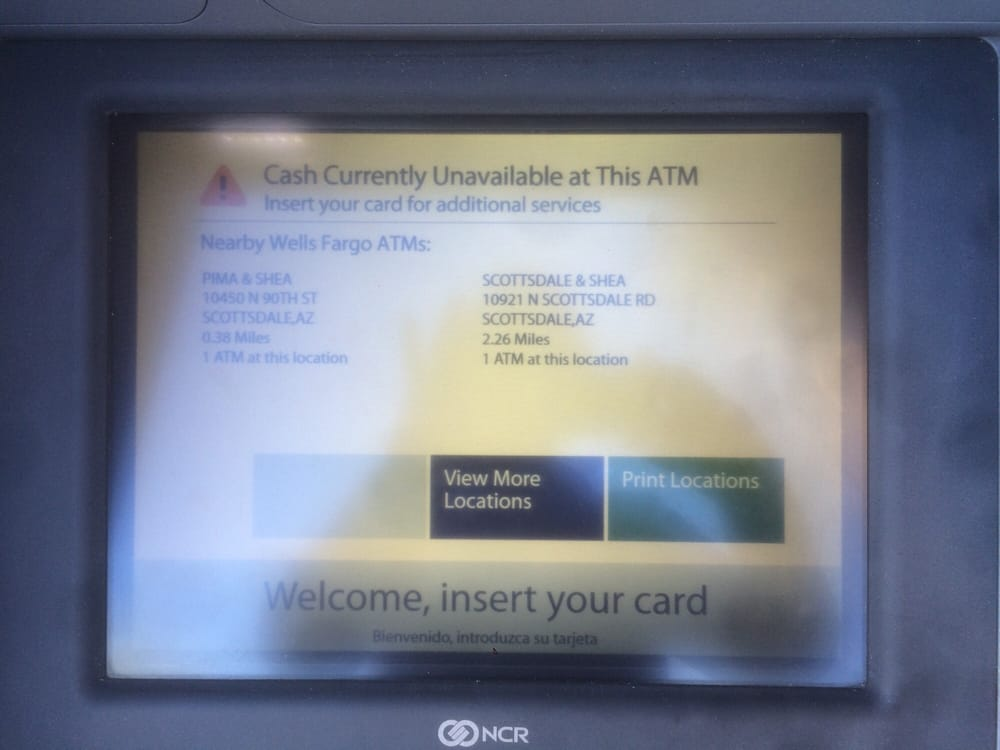 Not cool  No cash available  - Yelp