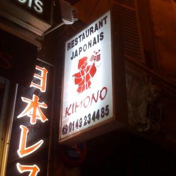 Kimono japonais 115 rue st maur oberkampf parmentier - Restaurant japonais paris cuisine devant vous ...