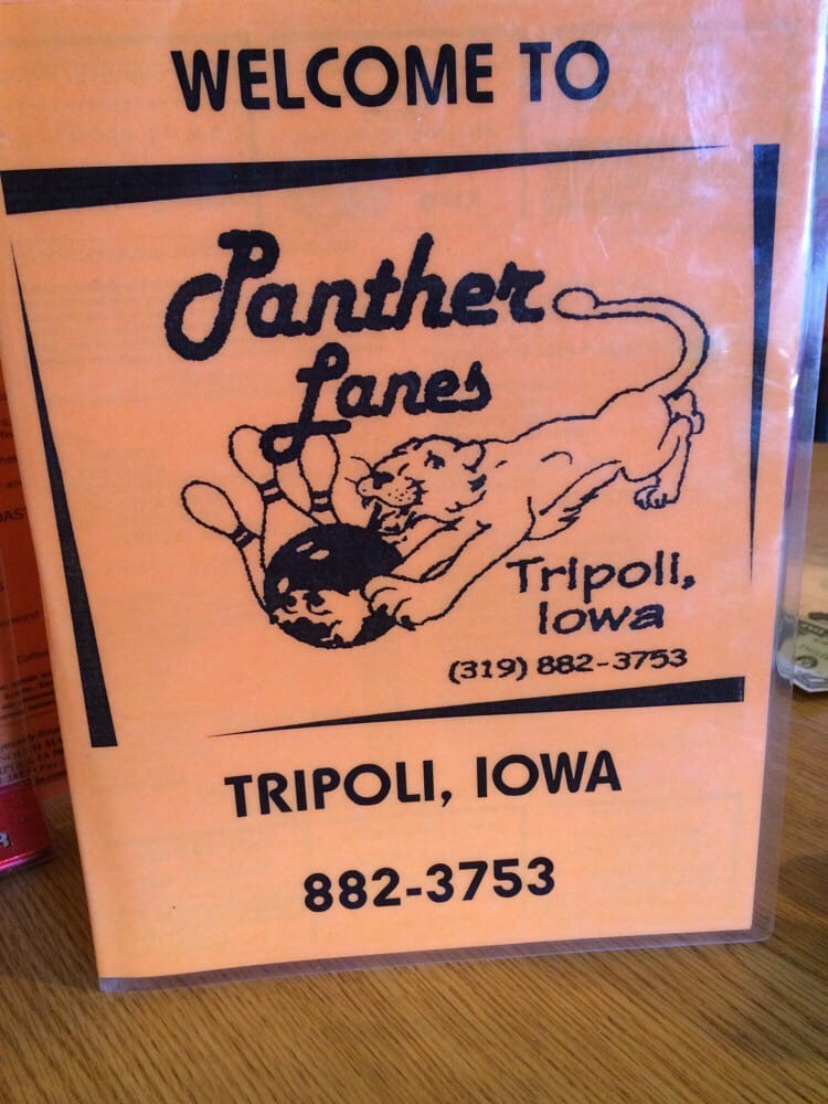 Panther Lanes: 502 7th Ave SW, Tripoli, IA