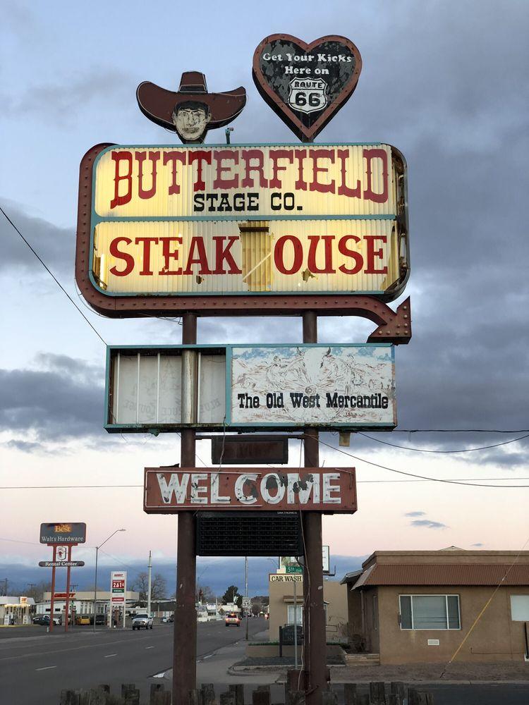 Butterfield Stage Co Steak House: 609 W Hopi Dr, Holbrook, AZ