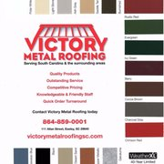 Victory Metal Roofing Roofing 111 Allan St Easley Sc