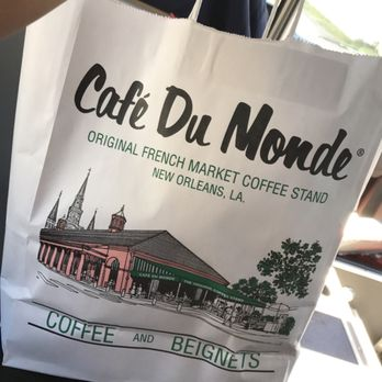 Cafe Du Monde Metairie Menu