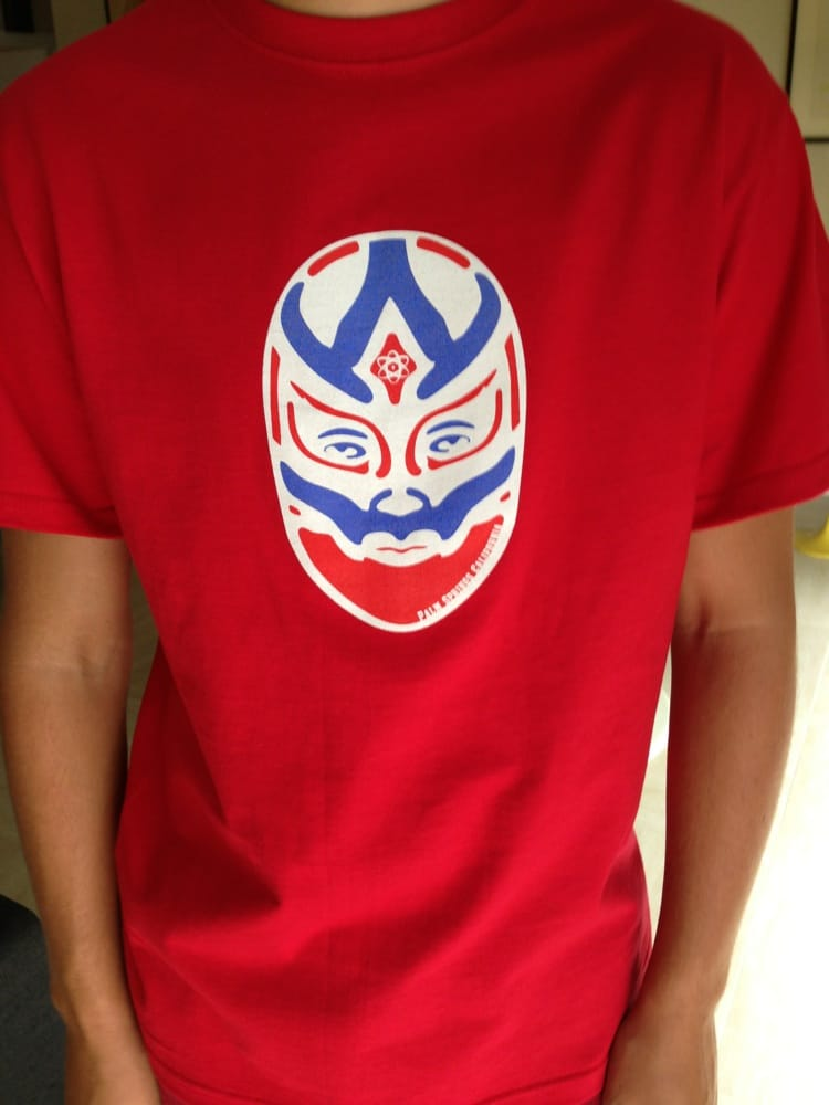 Lucha tee selling fast yelp for T shirt city palm springs