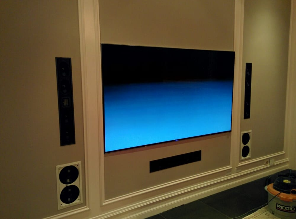 Client's custom installation courtesy of Music Lovers  85