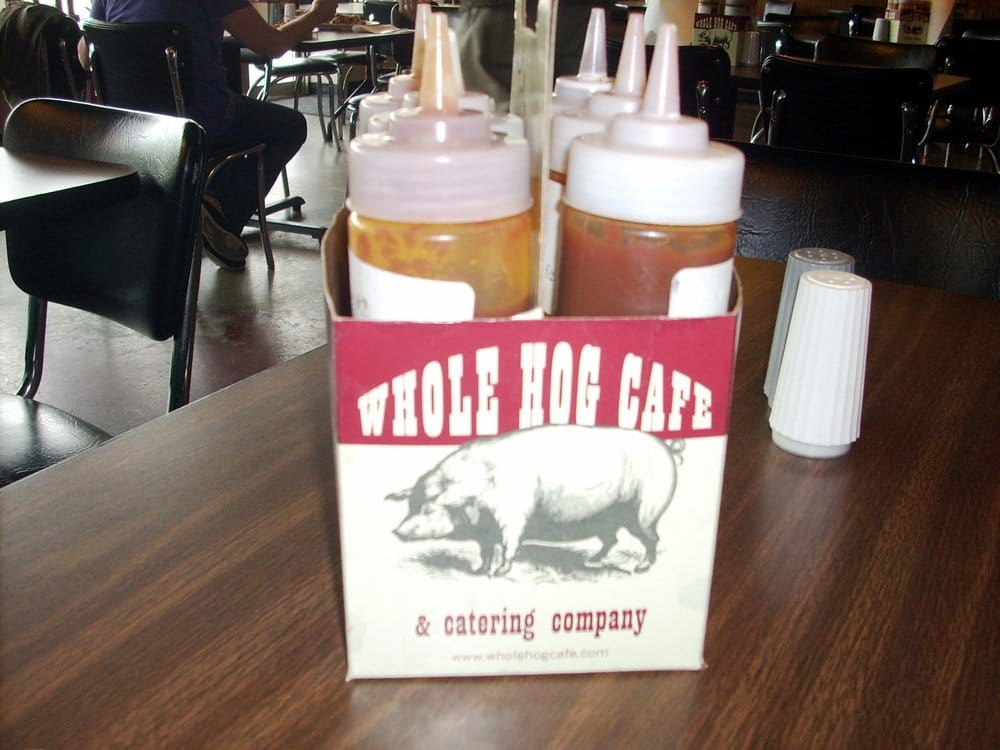 Food from Whole Hog Cafe