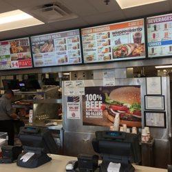 Photo Of Burger King Herkimer Ny United States Counter And Digital Menu