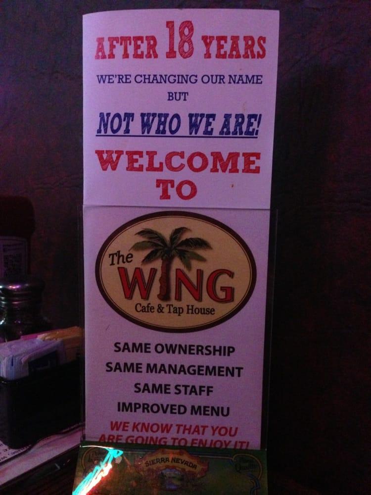 Wild Wing Cafe Marietta Menu