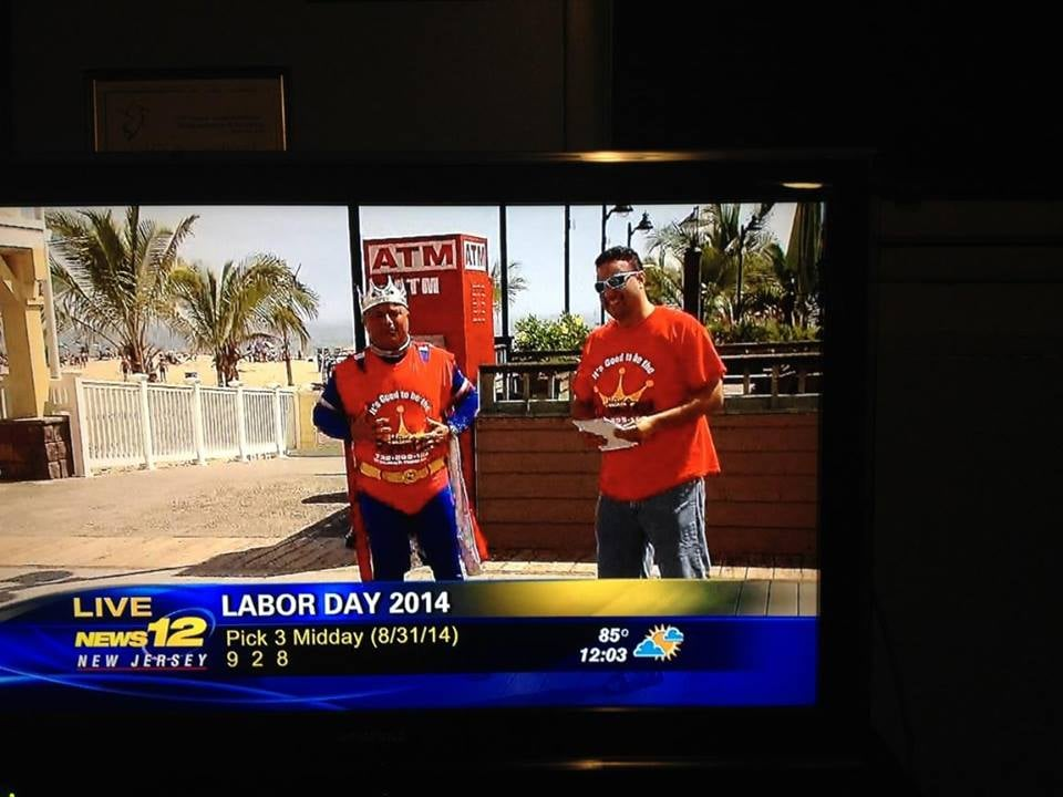 Johnny Salami and Ray Campisi co-owners on channel 12 news