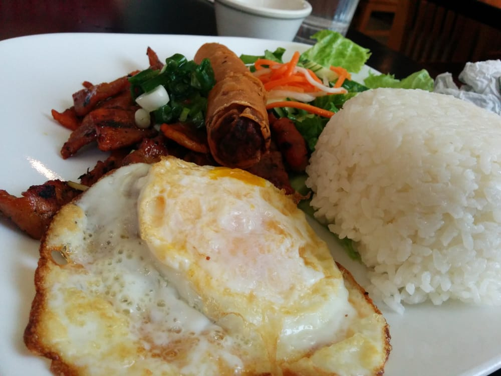 Pho company special rice plate with bbq pork yelp - Vietnamese cuisine pho ...