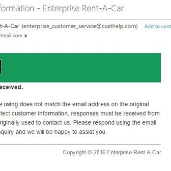 Enterprise Car Rental Orlando Airport Email