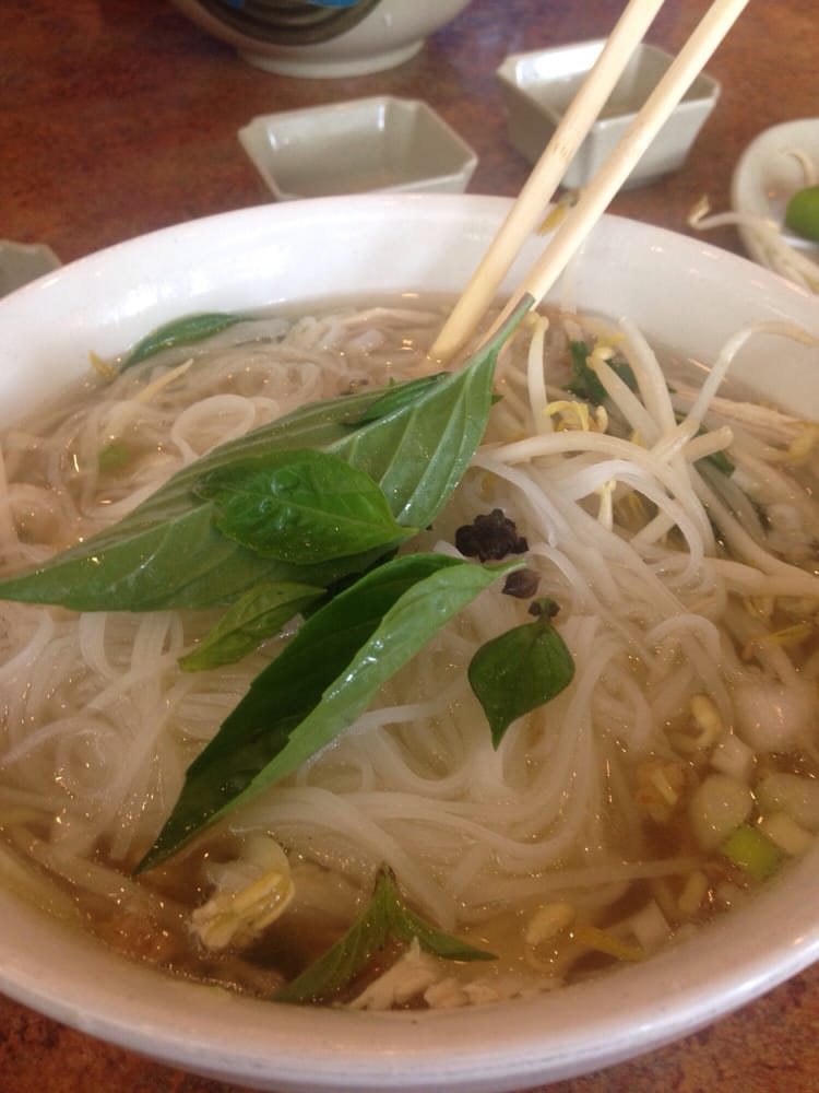 Delicious pho ga first time at pho viet it was great well - Vietnamese cuisine pho ...