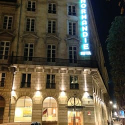Hôtel de Normandie - Bordeaux, France. Pas de doute, vous êtes au Normandie !