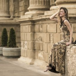 88dbb04b9 Photo of Nuribel - Marchena, Sevilla, Spain. Vestido de noche bordado  Nuribel Couture