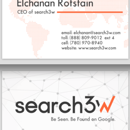 Search3w get quote web design 327 grove st jersey city nj photo of search3w jersey city nj united states business card reheart Choice Image