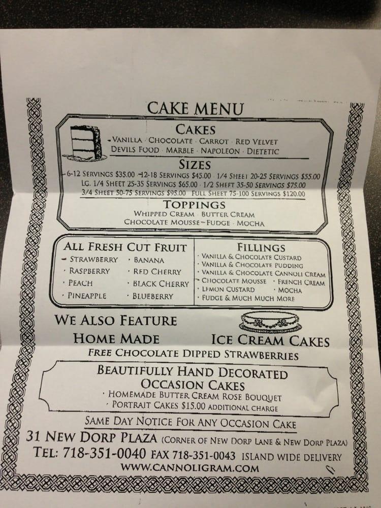 Dominick S Bakery Cafe Staten Island Ny