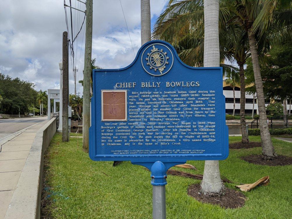Chief Billy Bowlegs: 2759 Palm Beach Blvd, Fort Myers, FL