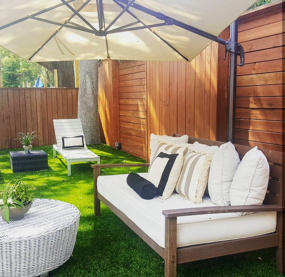 Entertainment Areas More Relaxed But Stylish And Luxe: Outdoor Relaxation Area.