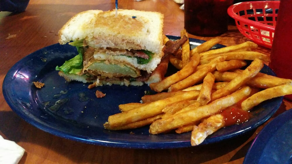 Big BLT with fried green tomatoes - Yelp