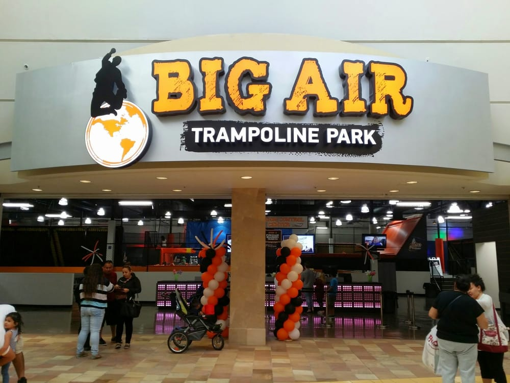 Big air trampoline coupons