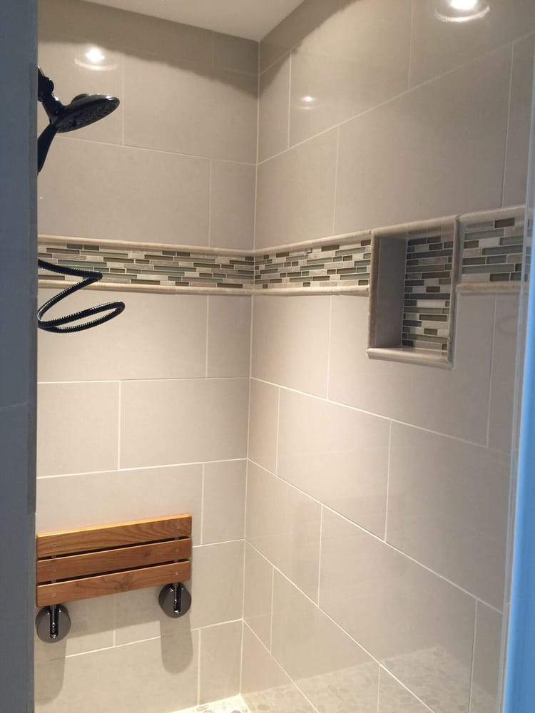 Photo Of Cultured Creations   Columbia, SC, United States. Porcelain Tile  Shower With