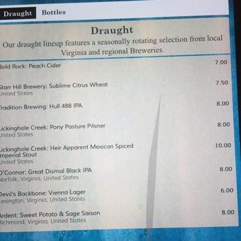 Fin Restaurant Week Menu Newport News