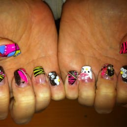 Photos for nail art studio yelp photo of nail art studio westlake oh united states 3d flowers with prinsesfo Images