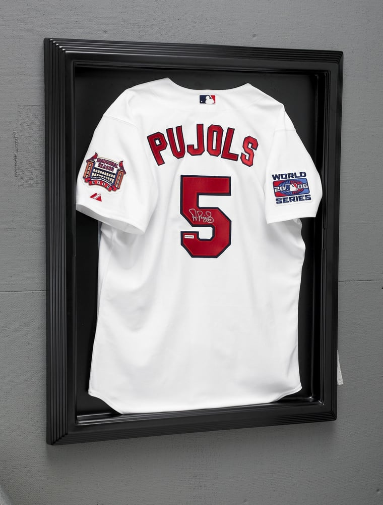 Sport Jersey in Black Wood Moulding Shadow Box Frame! - Yelp